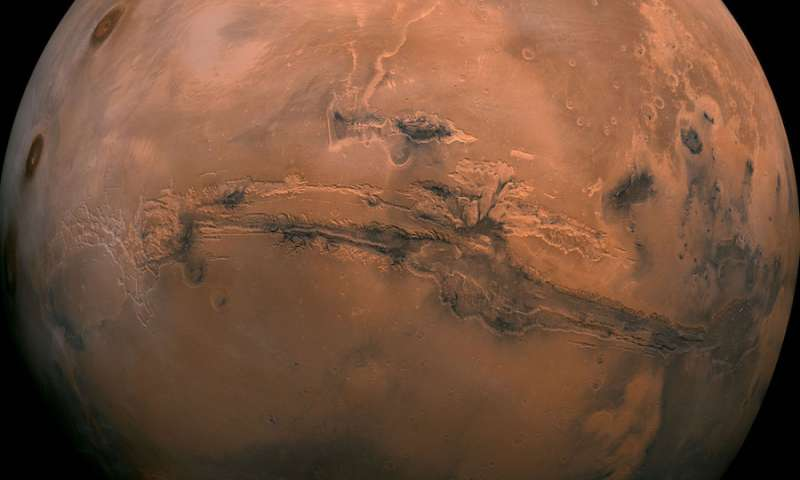 Bursts of methane may have warmed early Mars