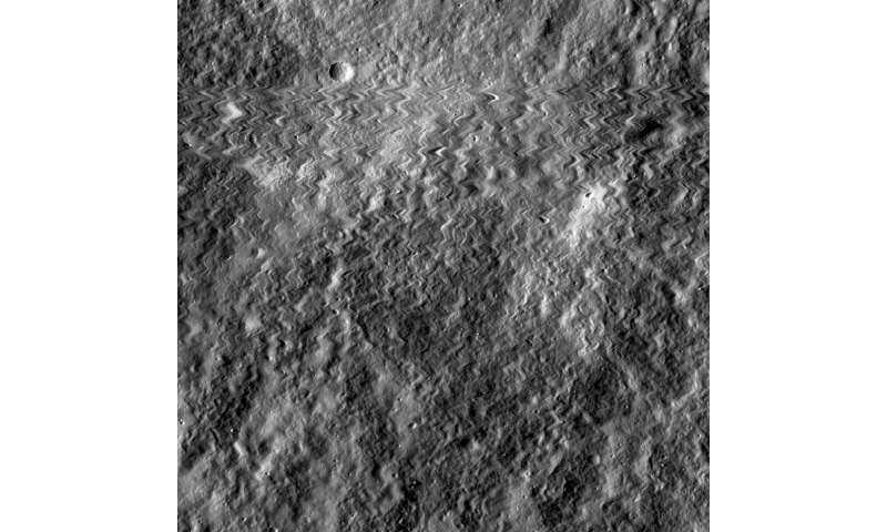 Camera on NASA's Lunar Orbiter survived 2014 meteoroid hit