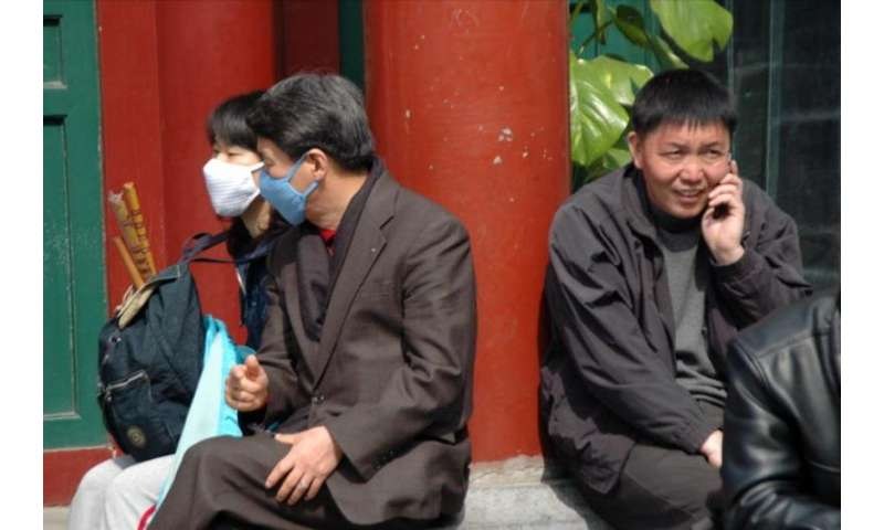 Can facemasks reduce the negative health impacts of air pollution?