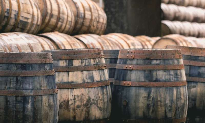 Can you make a 10-year malt whisky in weeks? The chemistry says yes