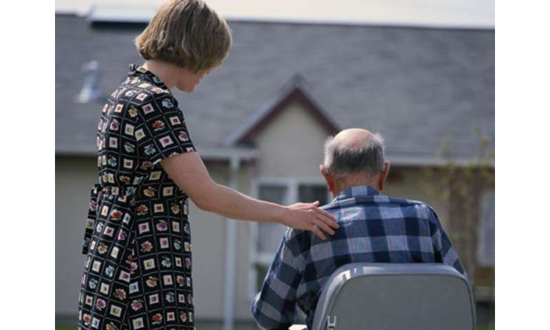 Caregiver phone support ups use of community resources