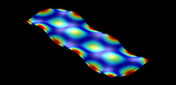 Celebrated optical trick goes vibrational