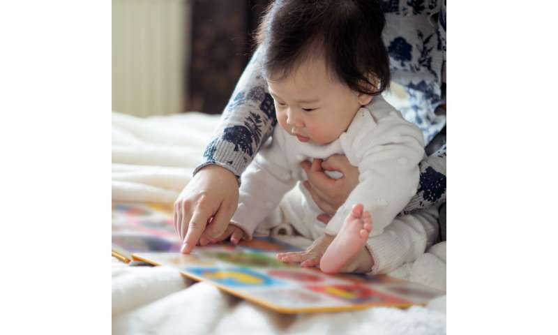 Certain books can increase infant learning during shared reading, study shows