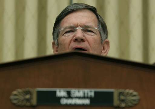 Chair of the House of Representatives Committee on Science, Space and Technology Lamar Smith accuses climate change scientists o