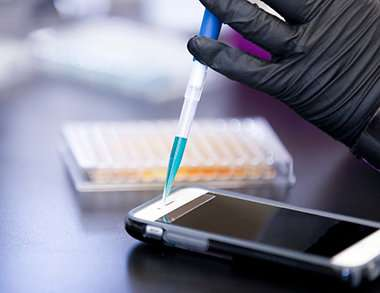 Chemist proposes 'sweat analysis' to better secure electronics