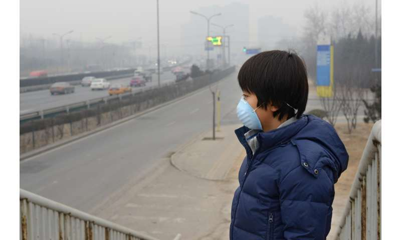Chinese air pollution linked to respiratory and cardiovascular deaths