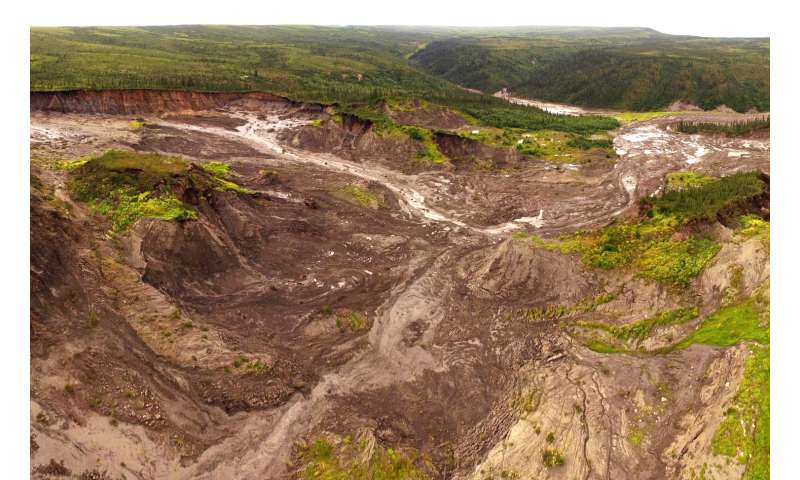 Climate-driven permafrost thaw