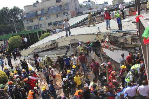 Collapsed Mexico school raises questions about quake codes