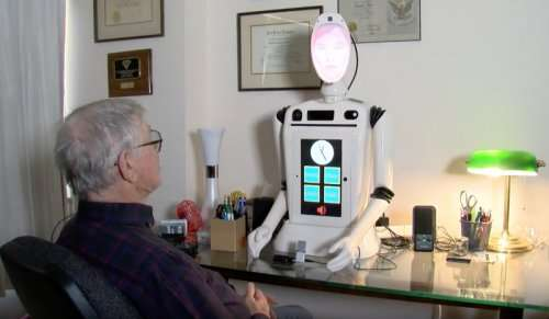 Companion robot helping patients with Alzheimer's