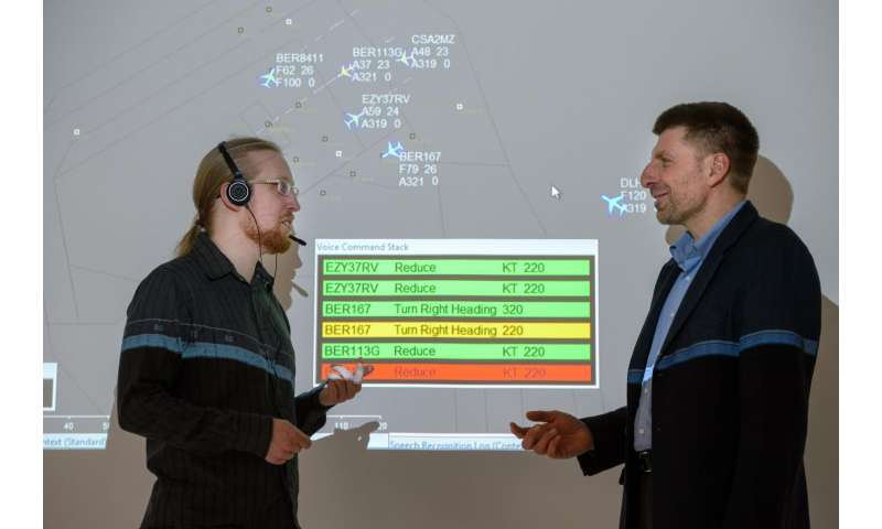 Computer linguists are developing an intelligent system aid for air traffic controllers