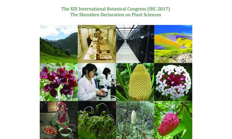Connecting plants and society: The Shenzhen Declaration, a new roadmap for plant sciences