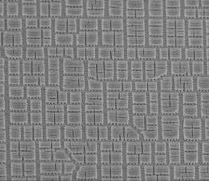 Controlling the way cracks form and spread to make a coating for electrochromic materials