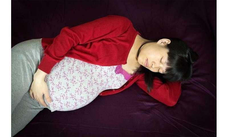 Could sleep disruption during pregnancy trigger depression?