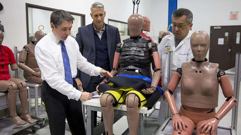 Crash-test dummies move beyond young, thin and male