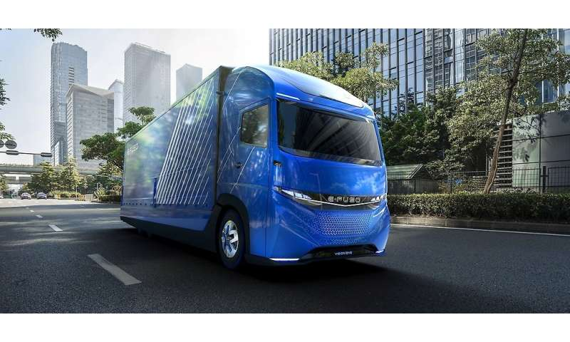 Daimler talks up regional intra-city electric truck distribution concept in E-Fuso Vision One