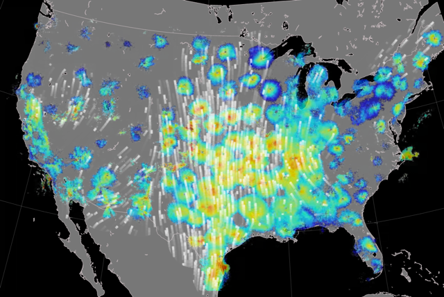 'Dark ecology project' will use past weather radar data to trace bird migrations