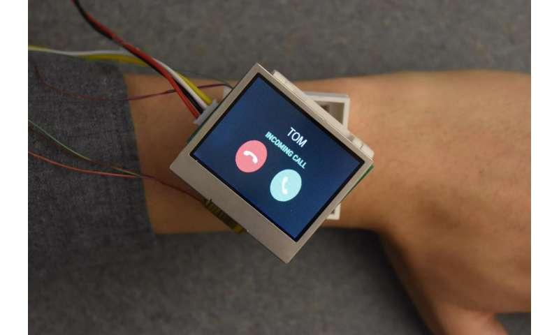 Dartmouth-led team develops smartwatch with all the moves