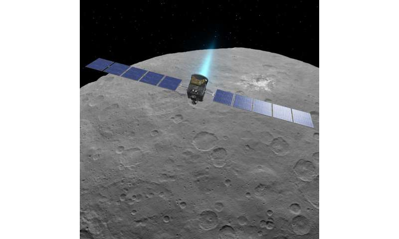 Dawn mission extended at Ceres