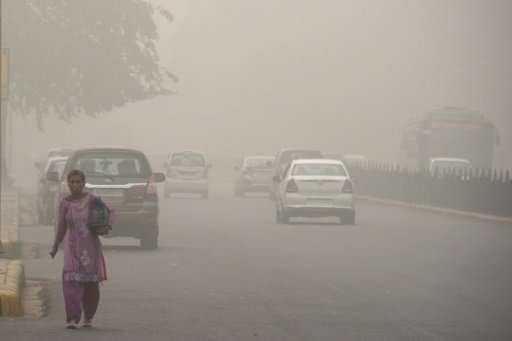 Delhi's air quality typically worsens ahead of the onset of winter