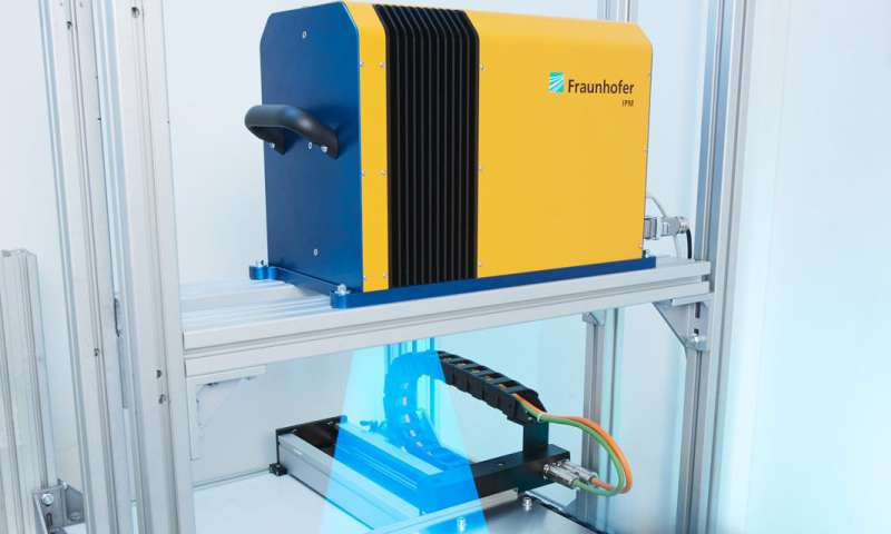Detecting impurities on 3-D components