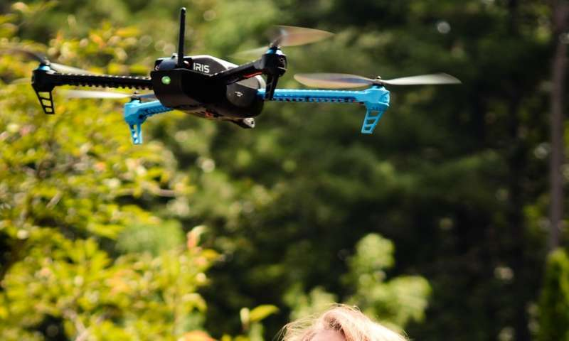 Deterring drones from ballparks and botanical gardens