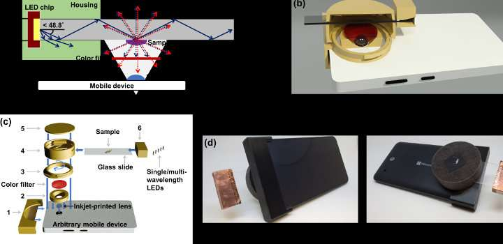 DIY: Scientists release a how-to for building a smartphone microscope