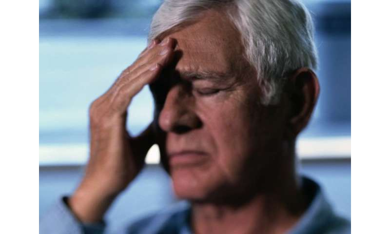 Dizziness in parkinson's may be due to cerebral hypoperfusion