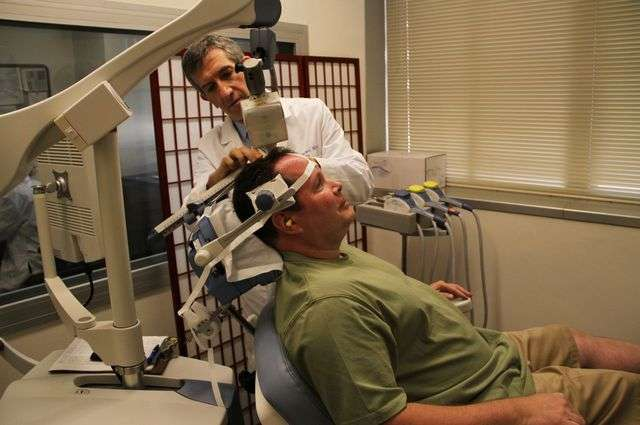 Doctors use magnetic stimulation to 'rewire' the brain for people with depression
