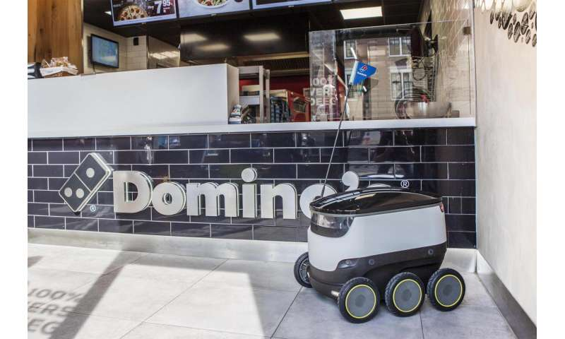 Domino's initiative uses robots for pizza delivery