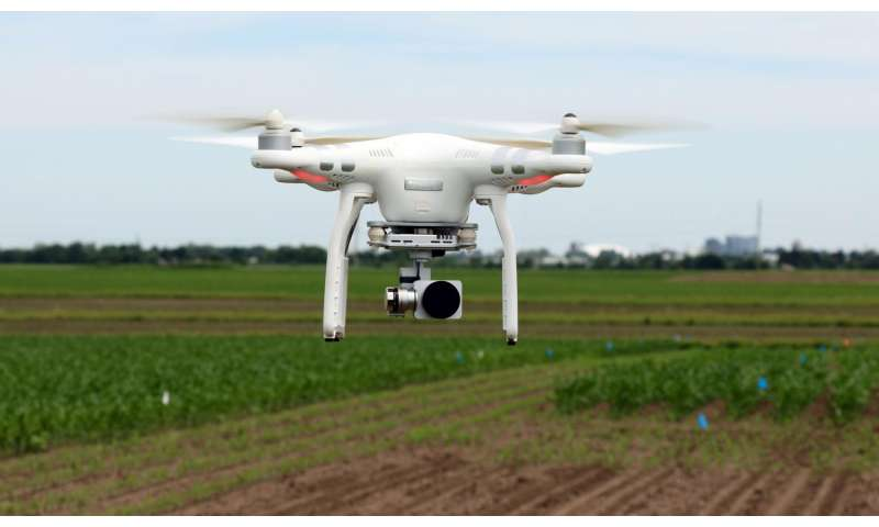 Drones are what's next for plant breeders