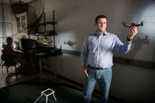 Drones controlled with brain-computer interface