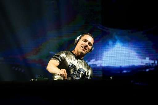 Dutch DJ Tiesto, pictured here during a show in the Dominican Republic in 2014, is a fan of streaming platform Mixcloud