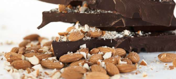 Eating almonds and dark chocolate lowers bad cholesterol
