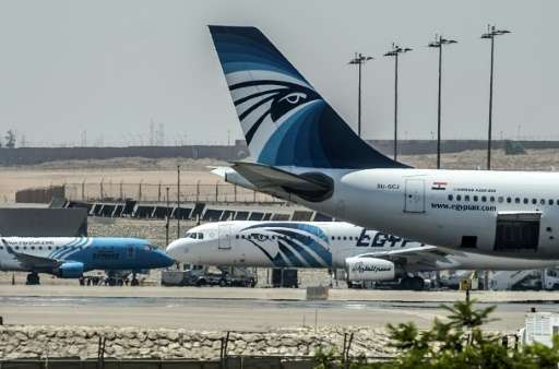 "EgyptAir said in a statement the British ban on personal electronic devices in aircraft cabins ""will be lifted tomorrow (Se"