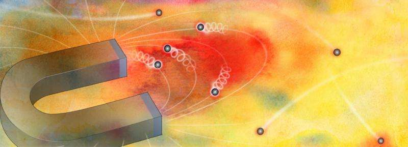"Electrons ""puddle"" under high magnetic fields, study reveals"
