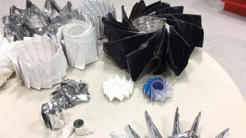 Engineers explore origami to create folding spacecraft