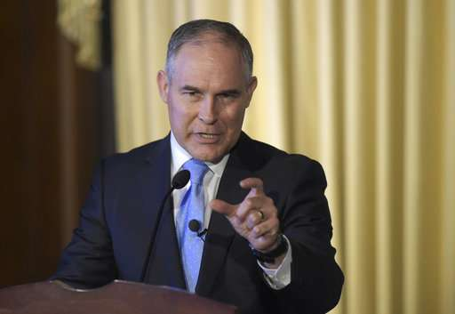 EPA chief: Carbon dioxide not primary cause of warming