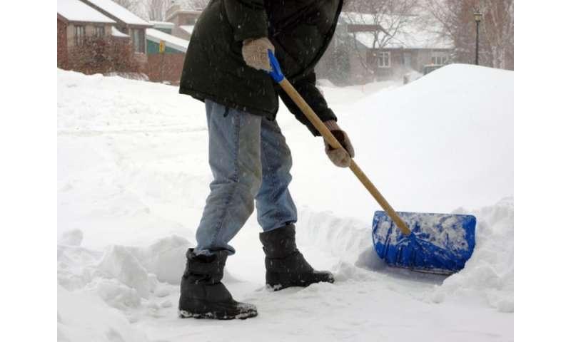 ER doctor offers tips for safer snow shoveling