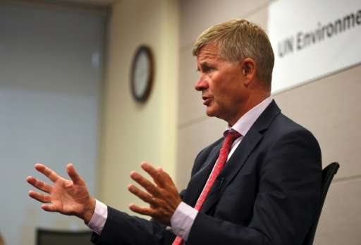 Erik Solheim, head of the UN Environment Programme, says China has much to do in the fight against climate change