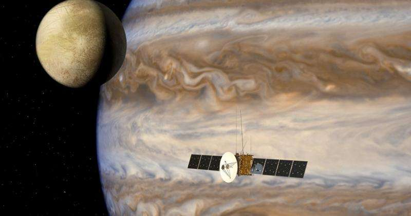 ESA's JUICE spacecraft could detect water from plumes erupting on Europa
