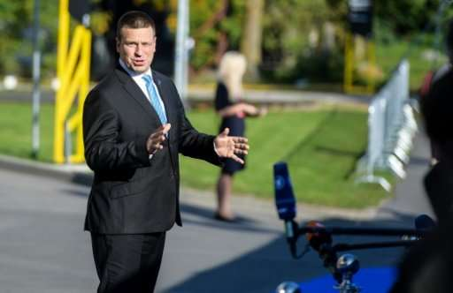 Estonia's Prime Minister Juri Ratas announced the decision to suspend security certificates for state-issued ID cards until thei