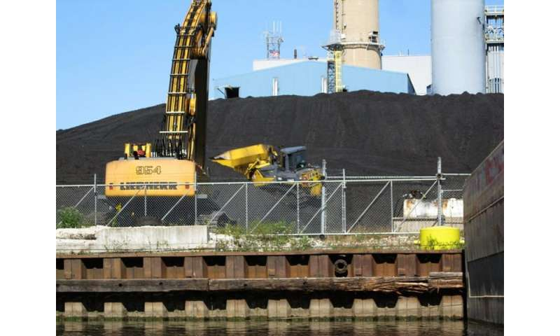 Even when it's sitting in storage, coal threatens human health