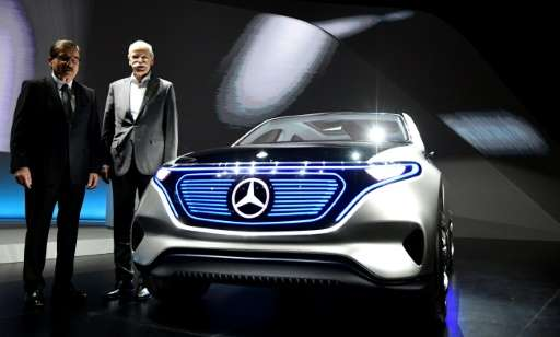 Every Daimler will have its electric or hybrid version
