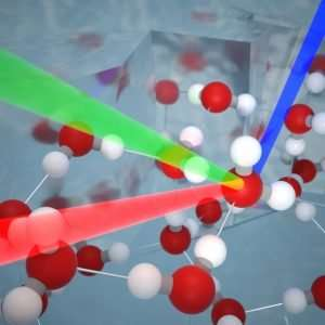 Excess Hydrogen Bonding at the Ice–Vapor Interface