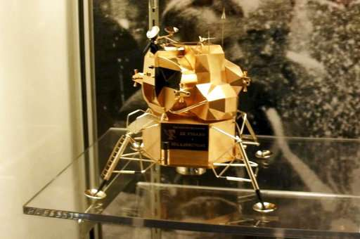 Ex-NASA agent fears gold lunar module will be melted down