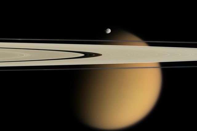 Extreme methane rainstorms appear to have a key role in shaping Titan's icy surface