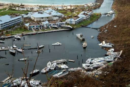 Fifteen people died from Irma on St Martin, an island shared by France and the Netherlands