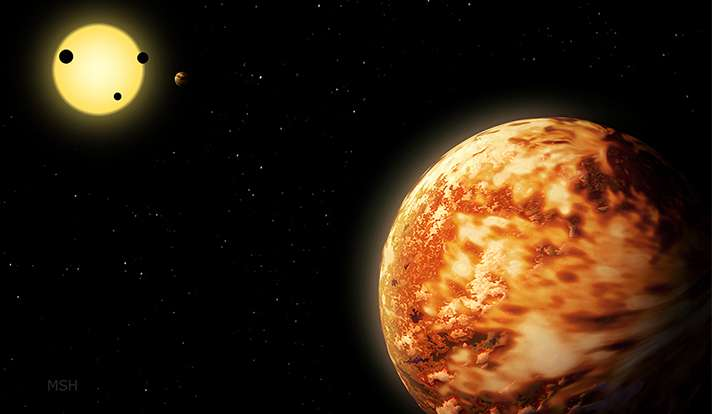 Finding a 'lost' planet, about the size of Neptune
