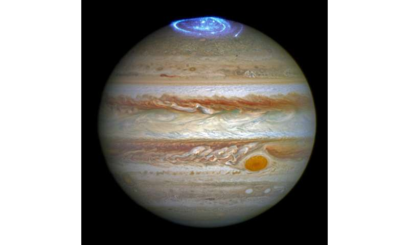 First Juno science results supported by University of Leicester's Jupiter 'forecast'