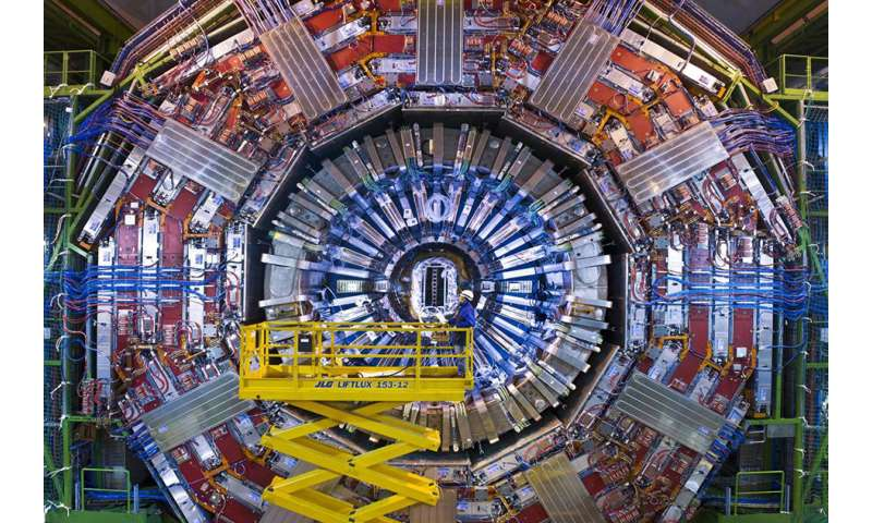 First open-access data from large collider confirm subatomic particle patterns